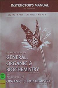 Fb2 Instructors Manual to Accompany Introduction to General, Organic  Biochemistry Sixth Edition and Introduction to Organic  Biochemistry Fourth Edition ePub