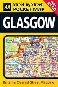 Fb2 AA Street by Street: Pocket Map Glasgow ePub