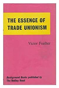 Fb2 The Essence of Trade Unionism ePub