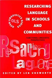 Fb2 Researching Language in Schools and Communities: Functional Linguistic Perspectives (Open Linguistics) ePub