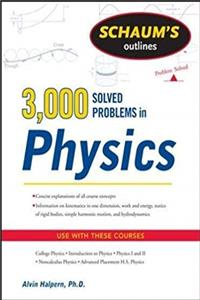 Fb2 Schaum's 3,000 Solved Problems in Physics (Schaum's Outlines) ePub