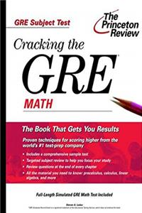 Fb2 Cracking the GRE Math (Princeton Review: Cracking the GRE) ePub