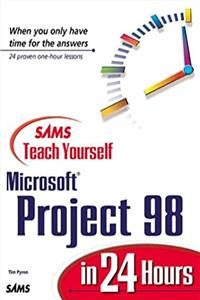 Fb2 Sams Teach Yourself Microsoft Project 98 in 24 Hours ePub