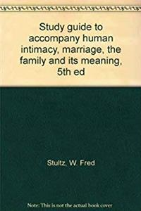 Fb2 Study guide to accompany human intimacy, marriage, the family and its meaning, 5th ed ePub