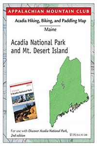 Fb2 Hiking and Biking Map of Acadia National Park  Mt. Desert Island: Discover Acadia National Park Map ePub