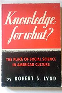 Fb2 Knowledge for What: The Place of Social Science in American Culture (Princeton Legacy Library) ePub