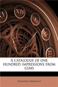 Fb2 A catalogue of one hundred impressions from gems ePub